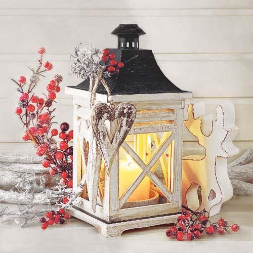 20er pack servietten laterne advent weihnachten 33 x 33. Black Bedroom Furniture Sets. Home Design Ideas