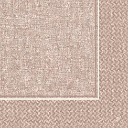duni dunilin servietten lina greige 40 x 40 cm tafeldeko. Black Bedroom Furniture Sets. Home Design Ideas