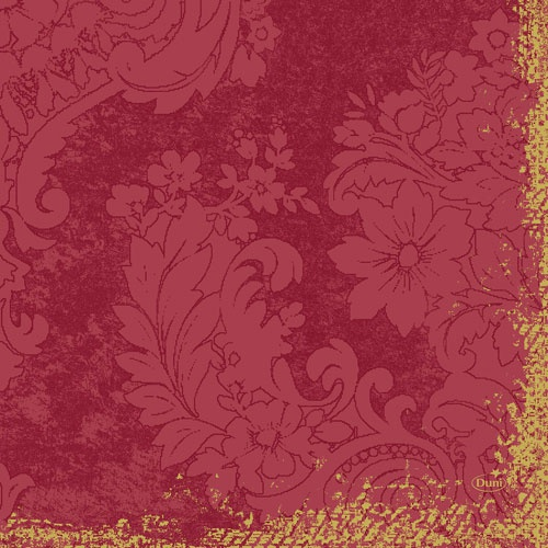Duni Zelltuch Servietten Royal Bordeaux, 33 x 33 cm