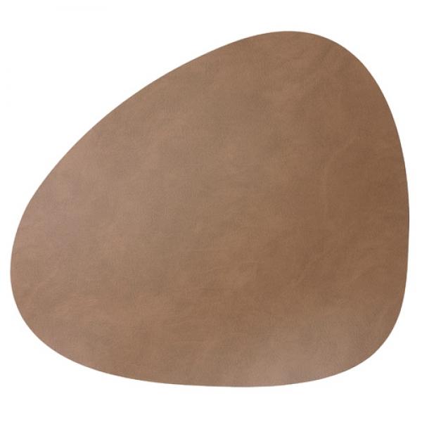 Duni leder tischset in braun 37 x 44 cm tafeldeko - Leder tischset ...