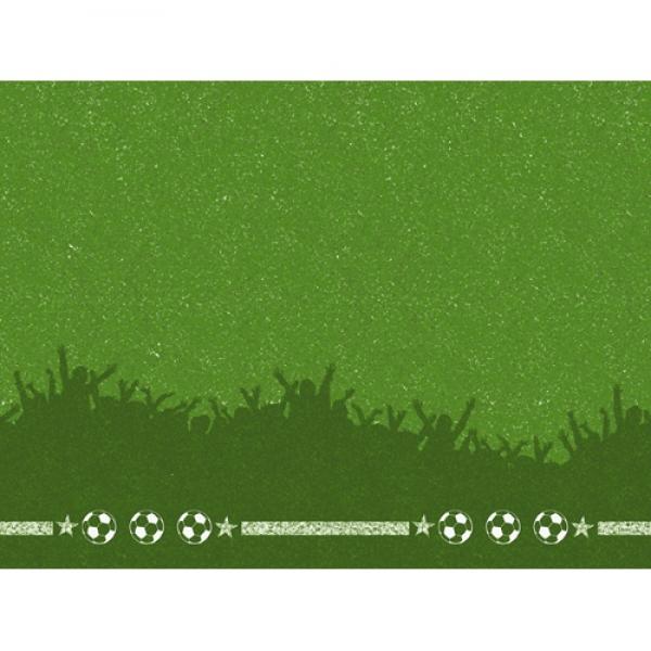 duni papier tischsets soccer fu ball 30 x 40 cm. Black Bedroom Furniture Sets. Home Design Ideas