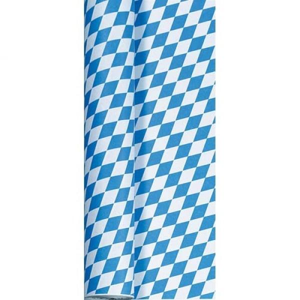 50 meter duni papier tischdeckenrolle bayrische raute breite 100 cm. Black Bedroom Furniture Sets. Home Design Ideas