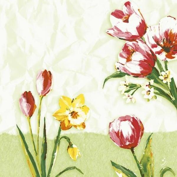 duni zelltuch servietten red tulip 40 x 40 cm. Black Bedroom Furniture Sets. Home Design Ideas