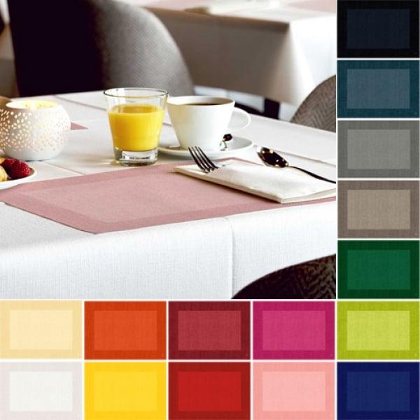 100er pack duni tischsets linnea in 17 farben. Black Bedroom Furniture Sets. Home Design Ideas