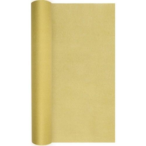 4 9 meter airlaid papier tischl ufer in gold 40 cm. Black Bedroom Furniture Sets. Home Design Ideas