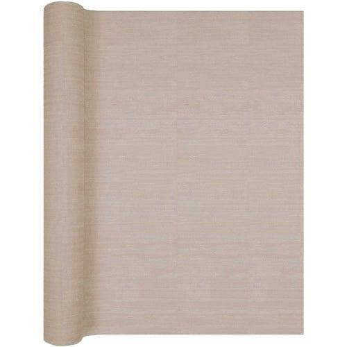 4 9 meter airlaid papier tischl ufer struktur in taupe 40 cm. Black Bedroom Furniture Sets. Home Design Ideas