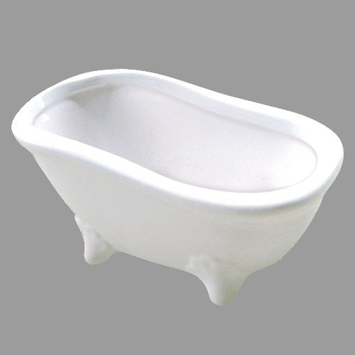 deko keramik badewanne in wei 15 cm. Black Bedroom Furniture Sets. Home Design Ideas