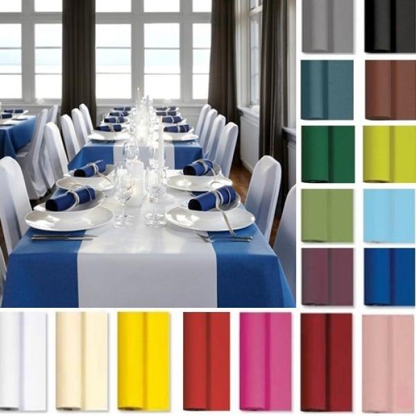 25 meter tischdeckenrolle von duni in 20 farben breite 125 cm. Black Bedroom Furniture Sets. Home Design Ideas
