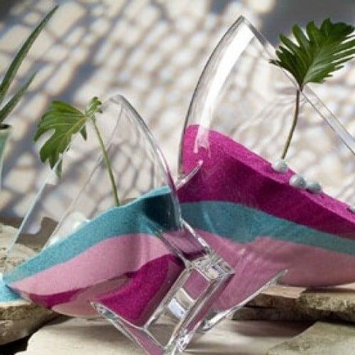 Farbsand in 20 farben tafeldeko for Tafel deko