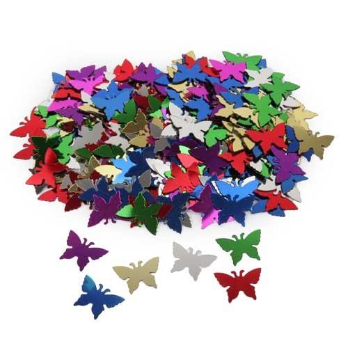 Konfetti Schmetterlinge bunt Bild 1