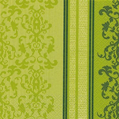 20er pack servietten barock lace gr n 33 x 33 cm. Black Bedroom Furniture Sets. Home Design Ideas