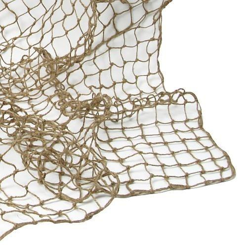fischernetz in natur 100 x 100 cm. Black Bedroom Furniture Sets. Home Design Ideas