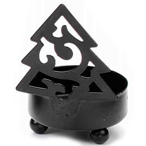 teelichthalter tannenbaum aus metall. Black Bedroom Furniture Sets. Home Design Ideas