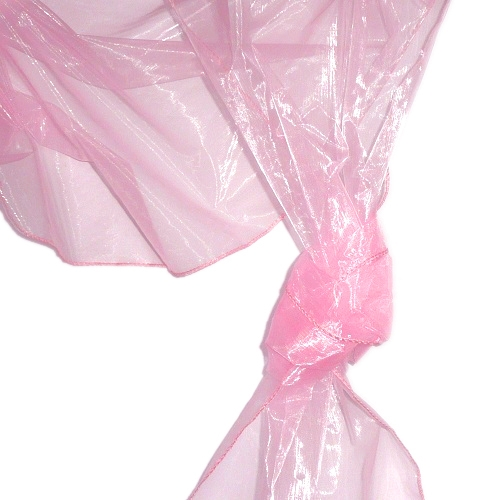 Organza Rolle 0,40 x 8,00 Meter in Rosa