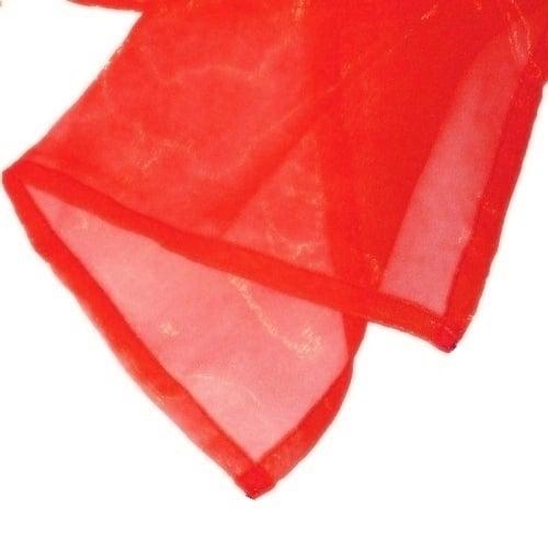 Organza dekostoff tischl ufer in rot - Organza dekostoff rollen ...