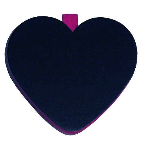 6er pack herz tischkarten in lila ebay for Tafel deko