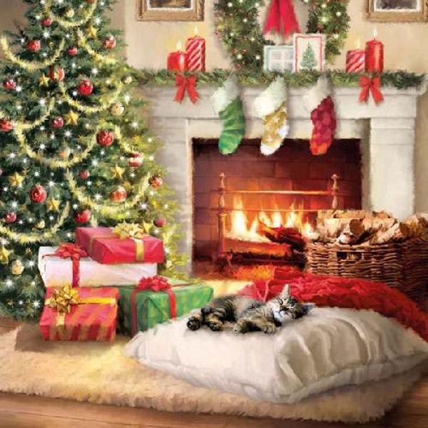 20er pack servietten harmonische weihnacht 33 x 33 cm ebay. Black Bedroom Furniture Sets. Home Design Ideas