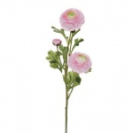 Kunstblume Ranunkel in Rosa