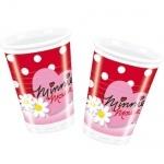 10er Pack Becher Minnie & Gänseblümchen