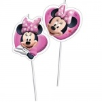 6er Pack Trinkhalme Minnie