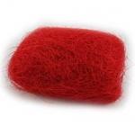 25 g Sisalgras in Rot