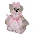 Bonboniere Teddybär in Rosa