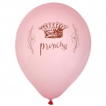 8er Pack Luftballons -Princesse-
