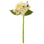 Kunstblume Hortensie in Rosa, 30 cm