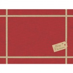 Duni Papier Tischsets Christmas Gift Red, 30 x 40 cm