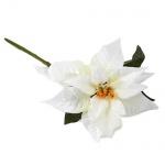 Kunstblume Weihnachtsstern Pick in Weiß, 27 cm