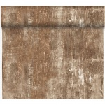 24 Meter Rolle Duni Dunicel Tischläufer Wood