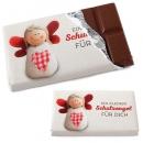 Gastgeschenk Schokolade -Schutzengel-