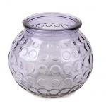 Vase, Windlicht Circle in Lila, 90 mm