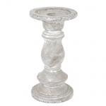 Vintage Kerzenständer für Stab- und Kugelkerzen, 20 cm