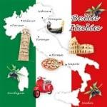 20er Pack Servietten Bella Italia, 33 x 33 cm