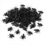 95 Streudeko Halloween Ameisen in Schwarz, 13 mm