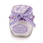 Gastgeschenk kleine Duftkerze Lavendel Nr. 3, 60 mm
