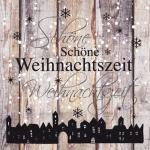 20er Pack Servietten Schöne Weihnachtszeit, 33 x 33 cm