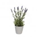 Kunstblume Lavendeltopf, 28 cm