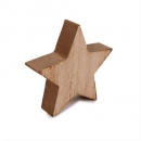Kleiner Holz Weihnachtsstern, 90 mm