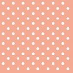 20er Pack Servietten Punkte in Apricot 33 x 33 cm