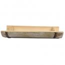 Bambus Dekoschale, länglich, 29 cm
