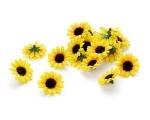 12er Pack Sonnenblumen als Streudeko