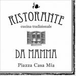 20er Pack Servietten Ristorante Da Mamma 33 x 33 cm