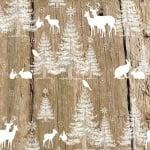 20er Pack Servietten In den Wäldern 33 x 33 cm