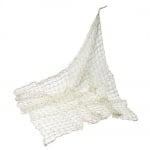 Fischernetz in Creme, 100 x 100 cm