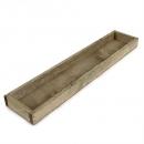 Rustikales Holztablett, Gesteckunterlage, rechteckig, 44,5 cm
