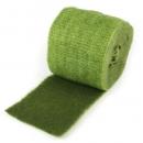 5 Meter Filzstoff zweifarbig in Grün/Hellgrün meliert, 15 cm