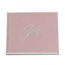 Gästebuch, Fotoalbum Hochzeit, Taufe, Forever in Altrosa/Silber