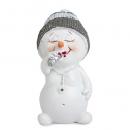 Gastgeschenk Weihnachten, Schneemädchen mit Lippenstift, 50 mm
